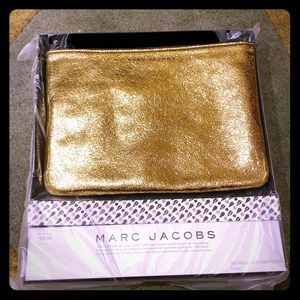 Marc Jacobs for Target gold clutch/pouch - NEW!!!